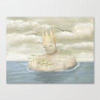 Island King Canvas Print