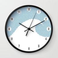 Wavy Wave Wall Clock