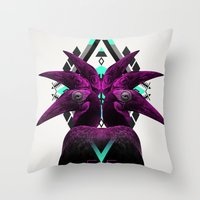 ::Never Landing:: Throw Pillow
