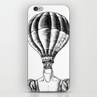 Think Freely In Contrast iPhone & iPod Skin