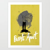 Burst Apart Art Print