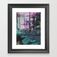 MIND DRUG Framed Art Print