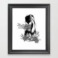 Aversion Framed Art Print