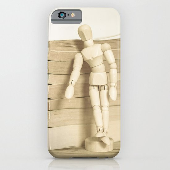 Little man books iPhone & iPod Case