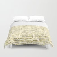 Riverside Gold Duvet Cover
