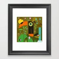 The Toucan Framed Art Print