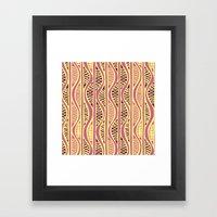 Peapods - Honeysuckle Go… Framed Art Print