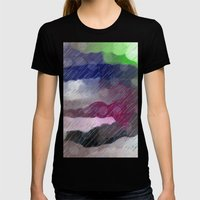 Rainy Day Womens Fitted Tee Black SMALL