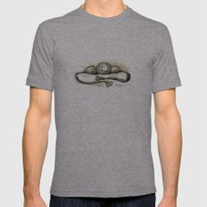 KOH-I-NOOR (mountian of light) Mens Fitted Tee Tri-Grey SMALL