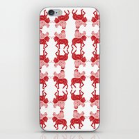 saddle horse   iPhone & iPod Skin