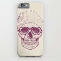 iPhone & iPod Case featuring Cool skull by Balazs Solti
