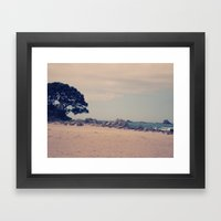 Summer Escape Framed Art Print