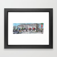 2nd Street, Davis Framed Art Print