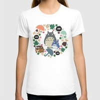 My Neighbor Troll   Womens Fitted Tee White SMALL