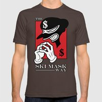 The Ski Mask Way Mens Fitted Tee Brown SMALL