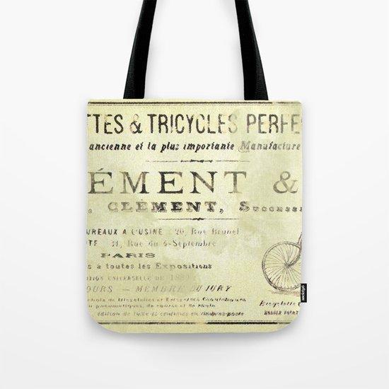 Bicyclette Tote Bag