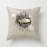 It's here daddy! Throw Pillow