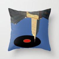 Glazba V.2 Throw Pillow