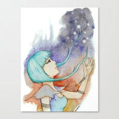 catch the stars Canvas Print