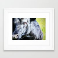 I'm Not Sure About You Framed Art Print