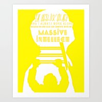 Massive Intellect Art Print