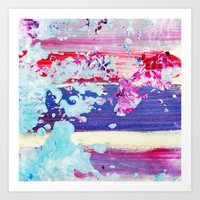 Color Splash #4 Art Print