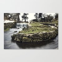 Converge & The Falls Canvas Print
