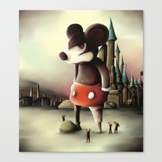 Mickey's Kingdom Canvas Print
