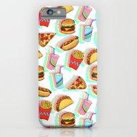 Rainbow Fast Food iPhone 6 Slim Case