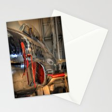 1960's Training Jet. Chrome Plated! Stationery Cards