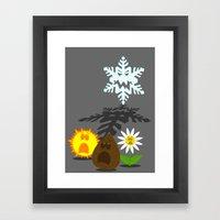 Winter Is Coming... 2 Framed Art Print