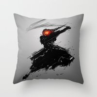 BlitzBlade Throw Pillow