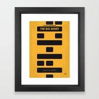 No622 My The Big Short M… Framed Art Print