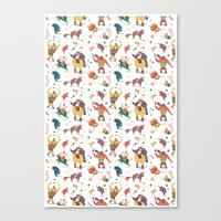 The Circus is coming to town! Canvas Print