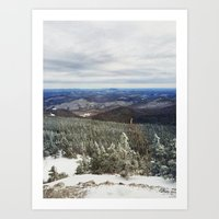 Killington Summit View Art Print