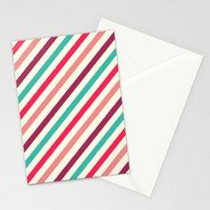 Striped. Stationery Cards