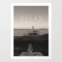 Relax Art Print