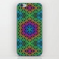 The Flower of Life (Sacred Geometry) 4 iPhone & iPod Skin