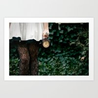 No Time To Say Hello, Goodbye... Art Print