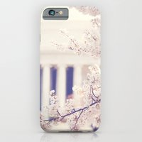 Cherry Blossoms at the Jefferson Memorial Washington DC iPhone 6 Slim Case