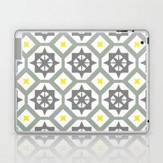 Carina - grey yellow Laptop & iPad Skin