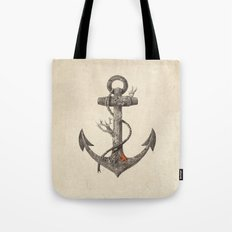 Lost at Sea - mono Tote Bag