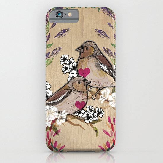 Floral Birds iPhone & iPod Case