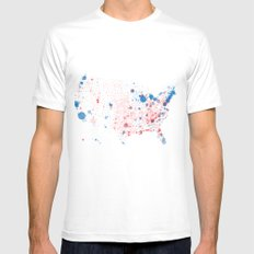 Election Mapping 2008 White Mens Fitted Tee SMALL