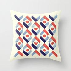 Dutch Tulip Throw Pillow