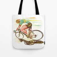 The Sprinter, Cycling Ed… Tote Bag