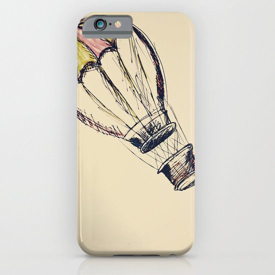 up, up, and away. iPhone & iPod Case