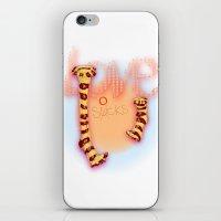 love socks iPhone & iPod Skin