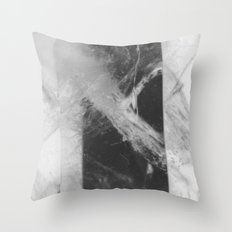 Crystal Depths Throw Pillow