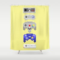 Nintendo Shower Curtain